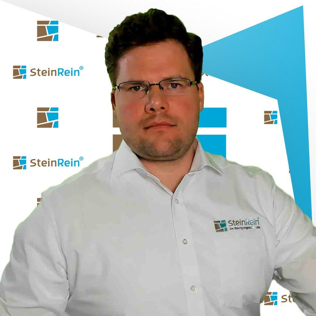SteinRein Gründer Reinigungssteinmetz Tobias Lepschy