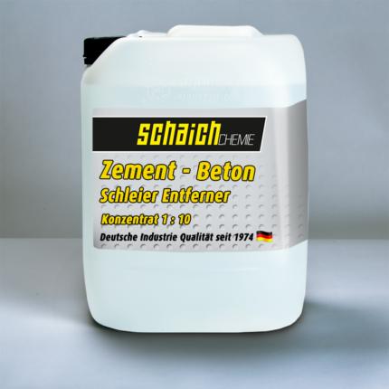 Schaich Chemie Zement- und Betonschleierentferner Konzentrat 1:10 1 zement beton schleier entferner reiniger konzentrat schaich chemie