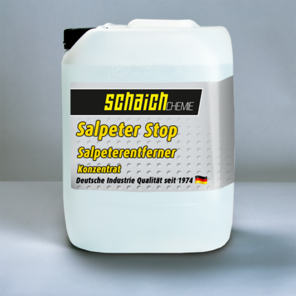 Schaich Chemie Salpeter Stop Konzentrat 1 salpeter stop salpeter salz verkrustungen entferner konzentrat schaich chemie