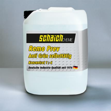 Schaich Chemie RemoPrev Anti Grün Konzentrat 1:6 1 remoprev anti gruen selbsttaetig konzentrat schaich chemie