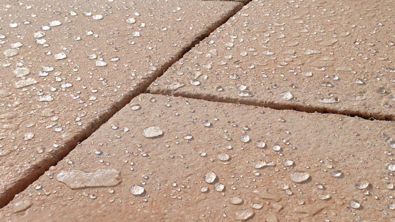 Imprägnierte Marmorplatten mit Lotuseffekt nach dem Marmor imprägnieren